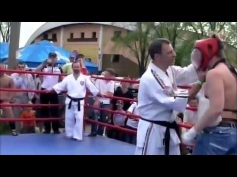 Любитель против мастера спорта * КОНТАКТНЫЙ КАРАТЭ * Тольятти видео