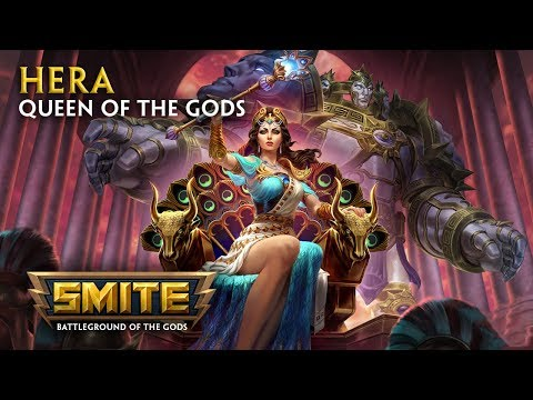 SMITE - God Reveal - Hera, Queen of the Gods.
