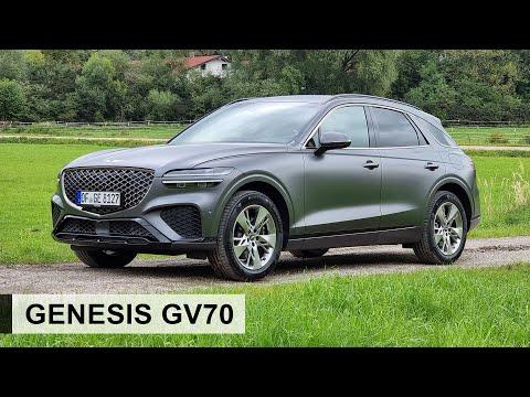 Erste Fahrt im 2022 Genesis GV70!: Der Beste in seiner Klasse? - Review, Fahrbericht, Test