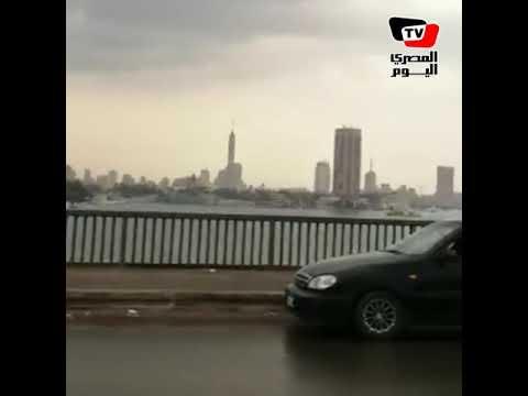 أمطار شديدة في الجيزة
