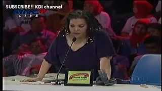 [ Konser KDI 2014 ] - Komentar & Pelajaran COUNTER POINT untuk IFAN bersama Mbak BERTHA