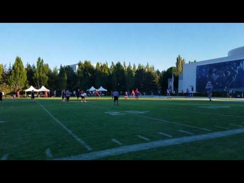 TigerNet.com - Trevor Lawrence at the Opening Finals -  Touchdown