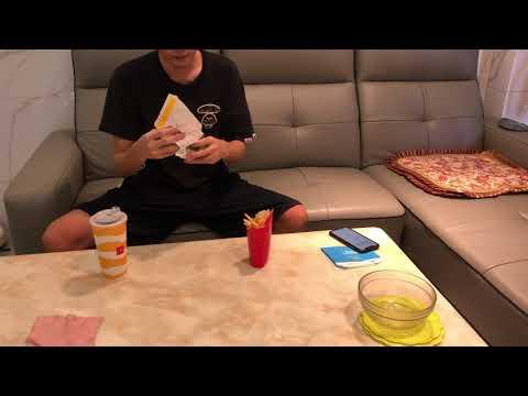 峰哥評測麥當勞板烤雞腿堡套餐 澳門美食公道伯