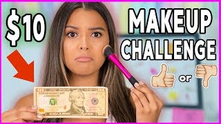 Full Face DRUGSTORE Makeup UNDER $10 Challenge! Poop or Woop? Natalies Outlet - Video Youtube