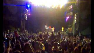 Creamfields 2009 - Dizzee Rascal - Holiday (with Calvin Harris)