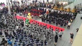 ハピリン」オープニングイベント!園児500人とジュラチック体操!