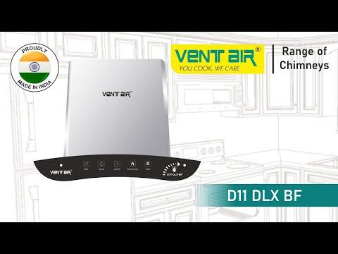 D11-Dlx-BF Smart Auto Clean Chimney