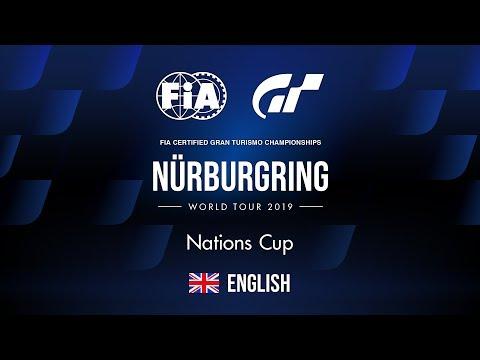 GT Sport   World Tour 2019 - Nürburgring   Nations Cup