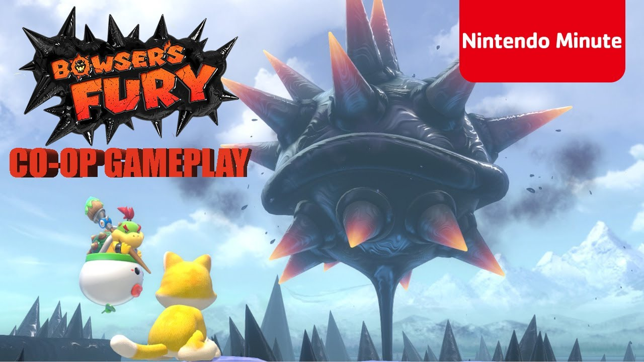 Nintendo Minute Shows Off Bowsers Fury Co-Op Gameplay
