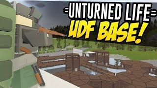 UDF BASE - Unturned Life Roleplay #236