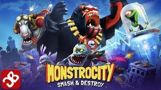 MonstroCity: Rampage (By Alpha Dog Games) - iOS/Android - Gameplay Video