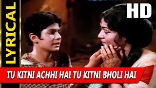 Tu Kitni Achhi Hai Tu Kitni Bholi Hai With Lyrics   - YouTube