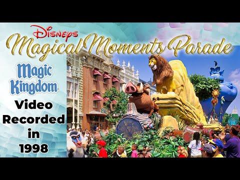 Disney's Magical Moments Parade Magic Kingdom Walt Disney World September 1998 Restored Home Movie