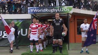 World Rugby U20 Highlights, Nuova Zelanda-Giappone 67-0