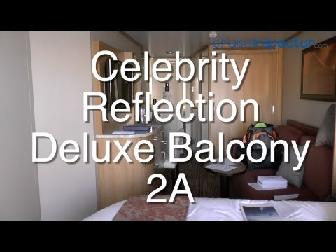 Celebrity Reflection: Deluxe Balcony Stateroom 2A 7239 Review