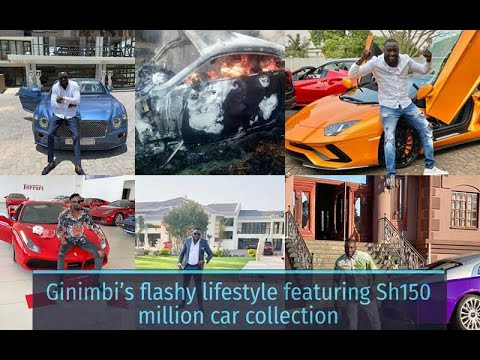 Ginimbi's flashy lifestyle featuring Sh150 million car collection