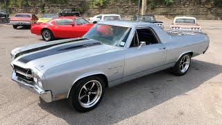 Test Drive 1970 Chevrolet El Camino 4 Speed $18,900 Maple Motors #643