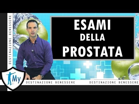 Antibiotici di rating per la prostatite