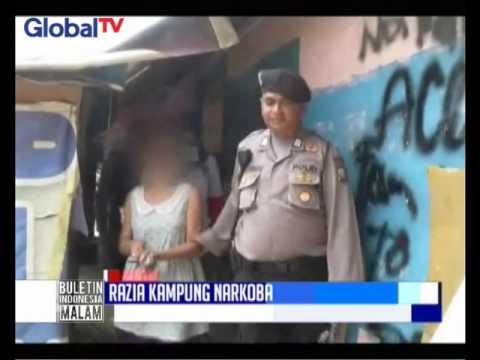 BNNP Batam Geledah Kampung Aceh & Tangkap Pengedar Serta Pemakai Narkoba - BIM 01/02