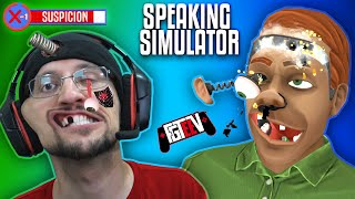 SPEAKING SIMULATOR!  Hilarious I forgot how to Talk Game! (FGTeeV Robot or Human?)