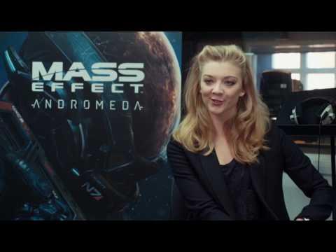 Natalie Dormer jako Lexi T'Perro v Mass Effect: Andromeda