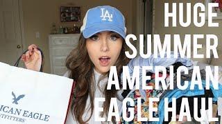 HUGE SPRING & SUMMER AMERICAN EAGLE HAUL & TRY-ON