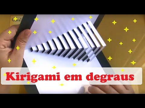 Cartão em Degraus