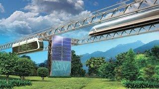 Новые технологии Юницкого  Небесный Транспорт. ЭкоТехноПарк SkyWay