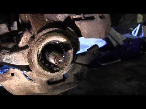 Front Wheel Bearing Replacement Ford Escort Zx2