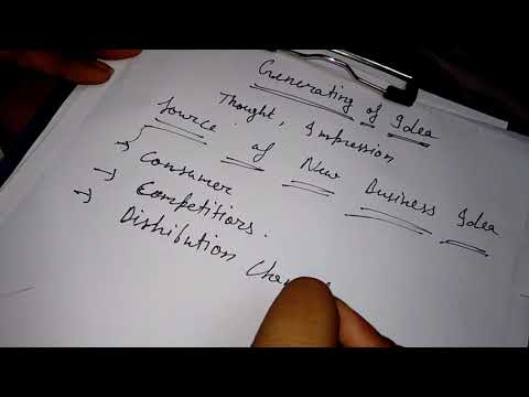 mp4 Business Ideas Generation Process, download Business Ideas Generation Process video klip Business Ideas Generation Process