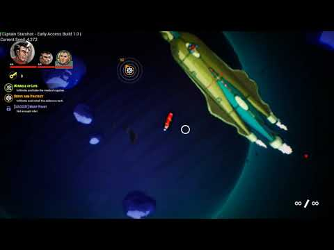 Space... The Final Lagland... [Captain Starshot]