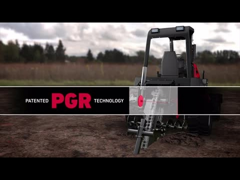 Toro RT1200 Riding Trencher Animation