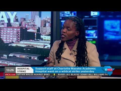 Police monitor Charlotte Maxeke Academic Hospital