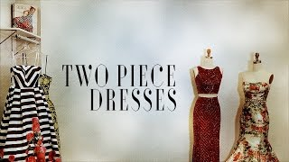 Two Piece Prom Dresses By Mac Duggal