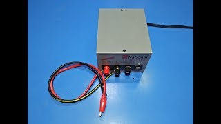 How To Make Battery Charger 12v 6 Amp DC Battery Charger