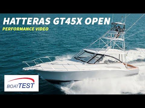 Hatteras GT45X video