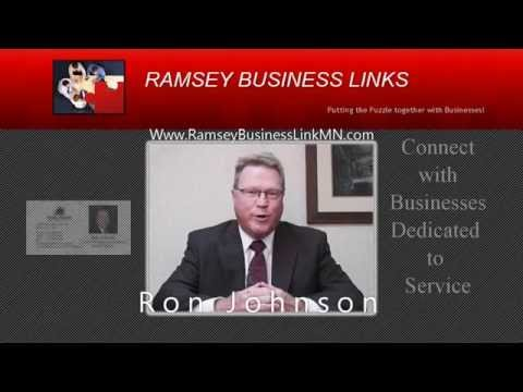 , title : 'Ramsey Business Links Production Ron Johnson Franklin American Mortgage Company