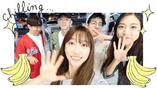 Vlog#18 Getting Ramen With The Minion Boys (Jae, Alex, Bernard) + Tina