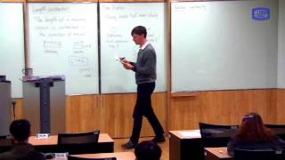 These videos are taken from a lecture course on Modern Physics I taught at the Catholic University of Korea in Spring 2016.In this class I give the mathematical definitions of length contraction, time dilation, and relative simultaneity. The effects are scaled by some parameters whose values are determined by the two postulates of Special Relativity, as will be shown in the next video.