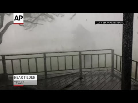 Powerful storms cause damage in Texas