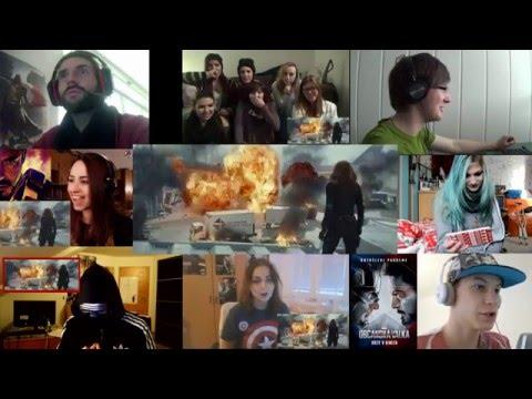 E-reakce na upoutávku Kapitán America: Občanská válka 15+
