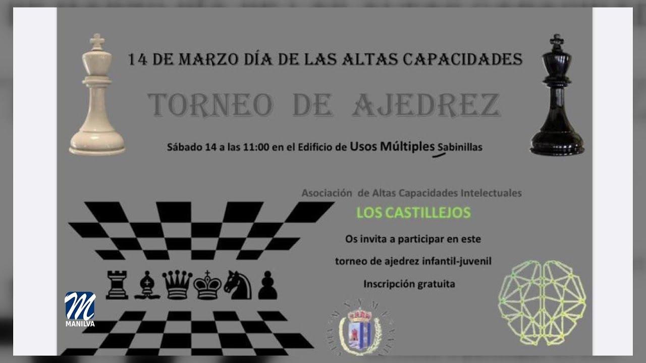 Torneo de ajedrez organizado por «Los Castillejos»