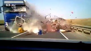 Пятеро уральцев погибли, решив переехать на юг (видеорегистратор)