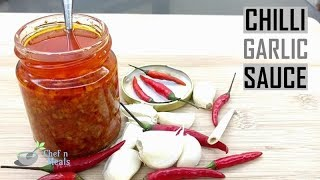How to make chili garlic sauce for food business