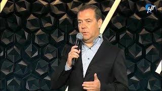 Дмитрий Медведев выступил на пленарном заседании форума «Среда для жизни. Города»