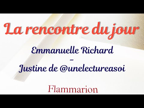 Vidéo de Emmanuelle Richard