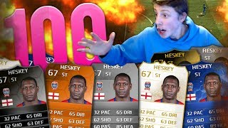 I HATE THIS GAME!! - 100 HESKEY WAGER - FIFA 14 Ultimate Team