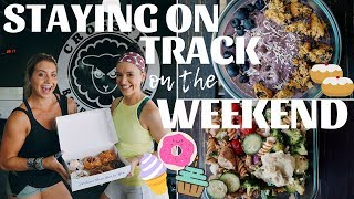 How To STAY ON TRACK On The Weekend & Plan Your Meals Ahead Of Time In My Fitness Pal!