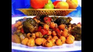 Нут Турецкий Горох с Овощами в Мультиварке Рецепт Вегетарианские Блюда