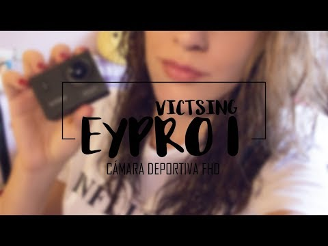 VicTsing EyPro 1 - CÁMARA DEPORTIVA | REVIEW en ESPAÑOL!